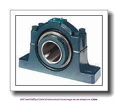 skf SAFS 22544 T SAF and SAW pillow blocks with bearings on an adapter sleeve