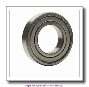 105 mm x 190 mm x 36 mm  skf 7221 BECBP Single row angular contact ball bearings