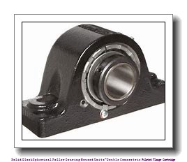 timken QAAC11A204S Solid Block/Spherical Roller Bearing Housed Units-Double Concentric Piloted Flange Cartridge
