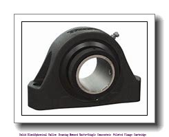 timken QVFY19V303S Solid Block/Spherical Roller Bearing Housed Units-Single V-Lock Round Flange Block