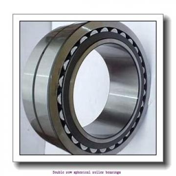 300 mm x 540 mm x 192 mm  SNR 23260EMKW33C3 Double row spherical roller bearings