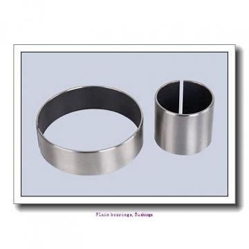15,875 mm x 18,256 mm x 19,05 mm  skf PCZ 1012 E Plain bearings,Bushings