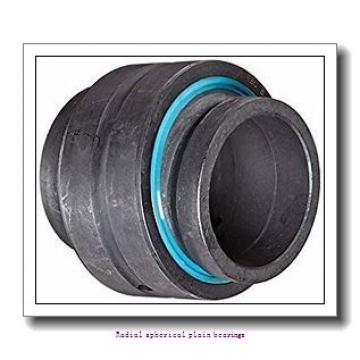 139.7 mm x 222.25 mm x 125.73 mm  skf GEZH 508 ESX-2LS Radial spherical plain bearings