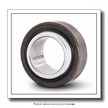 20 mm x 35 mm x 16 mm  skf GE 20 C Radial spherical plain bearings