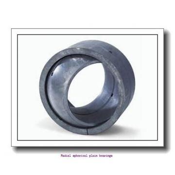 280 mm x 400 mm x 155 mm  skf GE 280 ES-2RS Radial spherical plain bearings