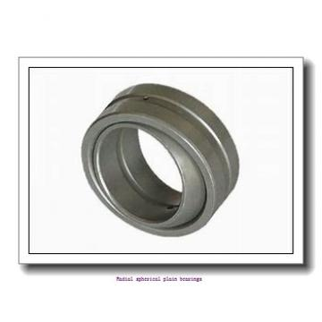 50 mm x 75 mm x 43 mm  skf GEM 50 ESL-2LS Radial spherical plain bearings