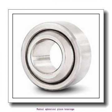 31.75 mm x 50.8 mm x 27.762 mm  skf GEZ 104 TXE-2LS Radial spherical plain bearings