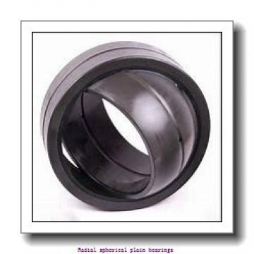 50 mm x 75 mm x 43 mm  skf GEM 50 ES-2LS Radial spherical plain bearings