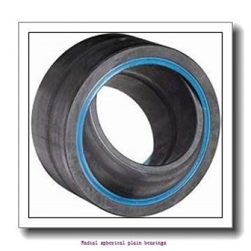 12 mm x 22 mm x 10 mm  skf GE 12 C Radial spherical plain bearings