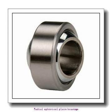 20 mm x 42 mm x 25 mm  skf GEH 20 ES-2LS Radial spherical plain bearings