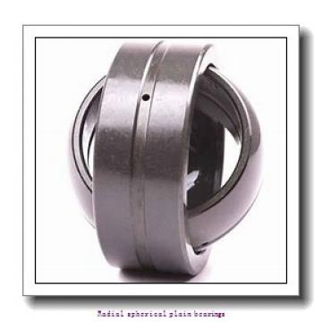 10 mm x 19 mm x 9 mm  skf GE 10 C Radial spherical plain bearings