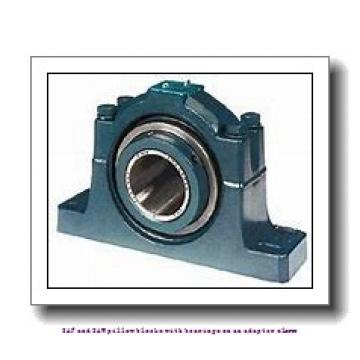 skf SAF 23026 KATLC x 4.1/2 SAF and SAW pillow blocks with bearings on an adapter sleeve