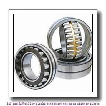 skf SAW 23524 x 4.1/8 TLC SAF and SAW pillow blocks with bearings on an adapter sleeve