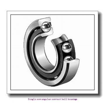 60 mm x 110 mm x 22 mm  skf 7212 BECBY Single row angular contact ball bearings