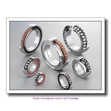 70 mm x 125 mm x 24 mm  skf 7214 BEP Single row angular contact ball bearings