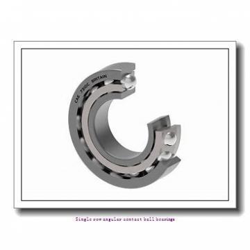 25 mm x 80 mm x 21 mm  skf 7405 BM Single row angular contact ball bearings