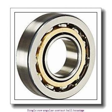 45 mm x 85 mm x 19 mm  skf 7209 BECBM Single row angular contact ball bearings