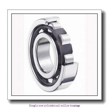 40 mm x 80 mm x 23 mm  NTN NJ2208ET2C3 Single row cylindrical roller bearings