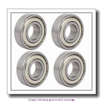20 mm x 42 mm x 12 mm  NTN 6004LLU/L433 Single row deep groove ball bearings