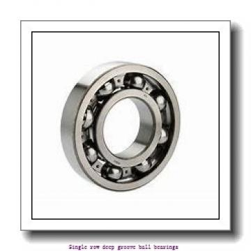 20 mm x 42 mm x 12 mm  NTN 6004 Single row deep groove ball bearings