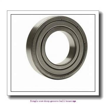 20 mm x 42 mm x 12 mm  NTN 6004LLU/L623 Single row deep groove ball bearings