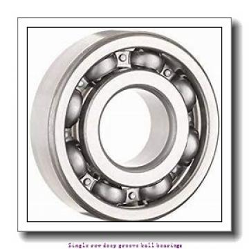 20 mm x 42 mm x 12 mm  NTN 6004LLU/L542 Single row deep groove ball bearings