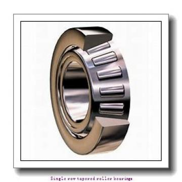 26,988 mm x 62 mm x 20,638 mm  NTN 4T-15106/15250 Single row tapered roller bearings