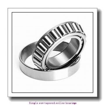 25,4 mm x 56,896 mm x 19,837 mm  NTN 4T-1780/1729 Single row tapered roller bearings