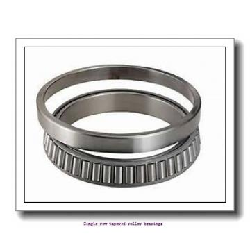 NTN 4T-25519 Single row tapered roller bearings