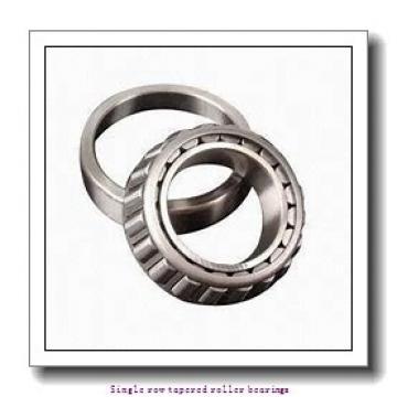31,75 mm x 62 mm x 20,638 mm  NTN 4T-15125/15245 Single row tapered roller bearings