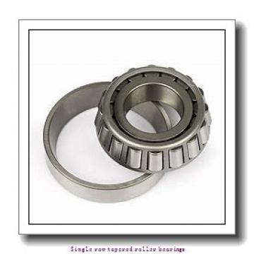 44,45 mm x 79,375 mm x 17,462 mm  NTN 4T-18685/18620 Single row tapered roller bearings