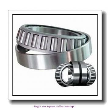 19,05 mm x 49,225 mm x 19,05 mm  NTN 4T-09067/09195 Single row tapered roller bearings