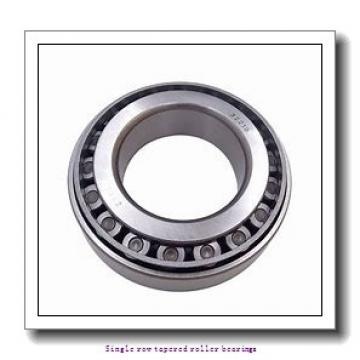 NTN 4T-2580 Single row tapered roller bearings