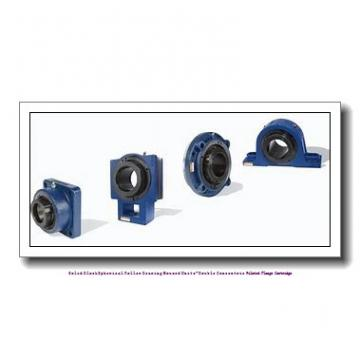 timken QAACW18A303S Solid Block/Spherical Roller Bearing Housed Units-Double Concentric Piloted Flange Cartridge