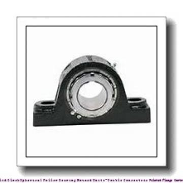 timken QAACW10A115S Solid Block/Spherical Roller Bearing Housed Units-Double Concentric Piloted Flange Cartridge