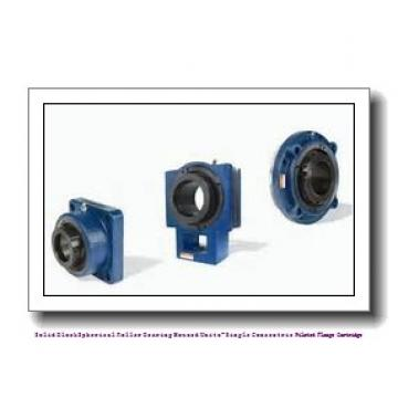 timken QVFX28V125S Solid Block/Spherical Roller Bearing Housed Units-Single V-Lock Round Flange Block