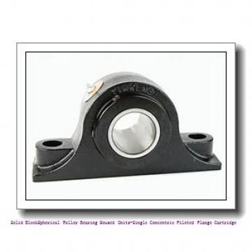 timken QVFX28V415S Solid Block/Spherical Roller Bearing Housed Units-Single V-Lock Round Flange Block