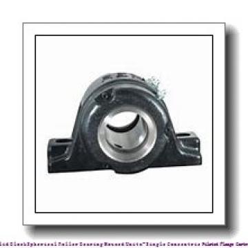 timken QVFY19V085S Solid Block/Spherical Roller Bearing Housed Units-Single V-Lock Round Flange Block