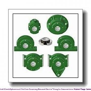 timken QVFY26V407S Solid Block/Spherical Roller Bearing Housed Units-Single V-Lock Round Flange Block