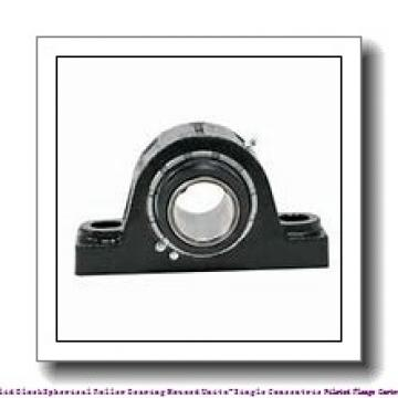 timken QVFY19V307S Solid Block/Spherical Roller Bearing Housed Units-Single V-Lock Round Flange Block