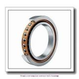 75 mm x 190 mm x 45 mm  skf 7415 BCBM Single row angular contact ball bearings