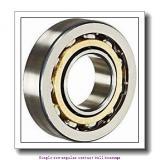 500 mm x 670 mm x 78 mm  skf 719/500 AGMB Single row angular contact ball bearings