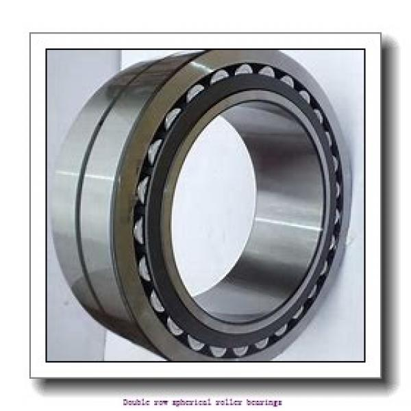 220 mm x 460 mm x 145 mm  SNR PR240.1.500L Double row spherical roller bearings #1 image