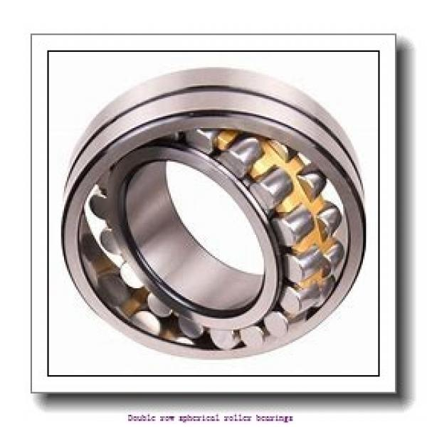 260 mm x 400 mm x 140 mm  SNR 24052EAW33 Double row spherical roller bearings #1 image
