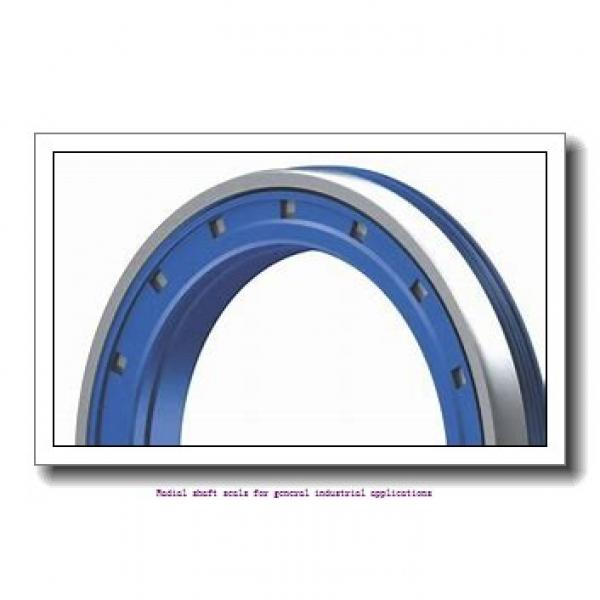 skf 95X110X10 HMS5 V Radial shaft seals for general industrial applications #2 image