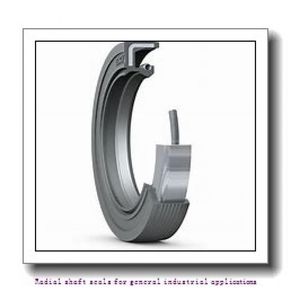 skf 35X72X7 HMSA10 V Radial shaft seals for general industrial applications #2 image