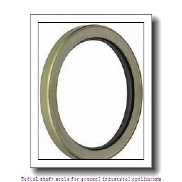 skf 70X100X10 HMS5 V Radial shaft seals for general industrial applications #1 image