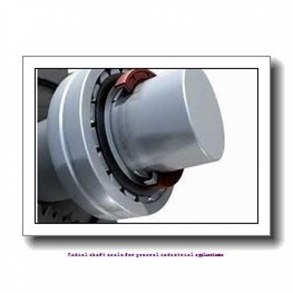 skf 40X52X6 HMSA10 RG Radial shaft seals for general industrial applications #1 image