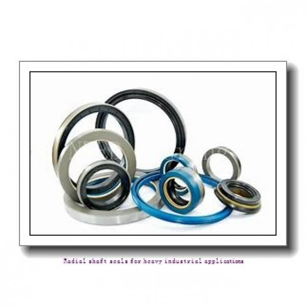 skf 1550162 Radial shaft seals for heavy industrial applications #1 image