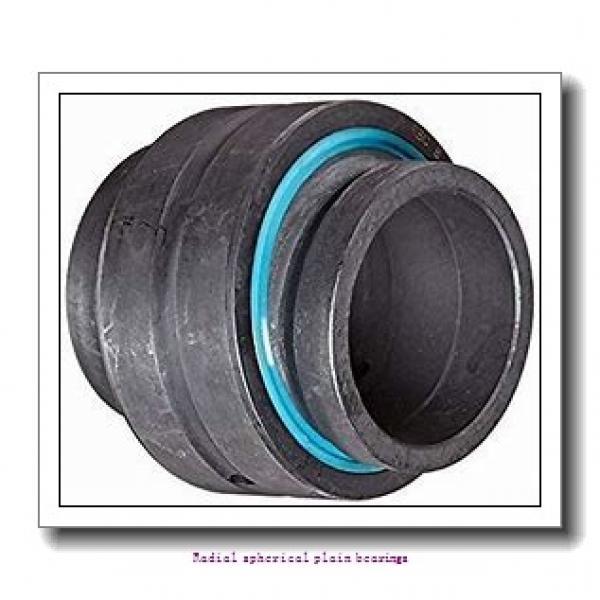 420 mm x 560 mm x 190 mm  skf GEC 420 TXA-2RS Radial spherical plain bearings #1 image